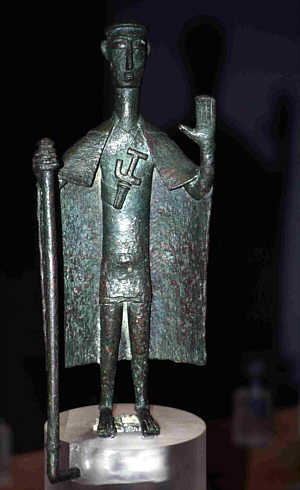 Sardinien Nuraghenfürst bronzetto